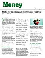 Click for pdf: Make your charitable giving go further