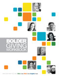 Download the Bolder Giving Workbook