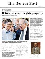 Click for pdf: Determine your true giving capacity