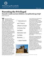 Click for pdf: Parenting the Privileged