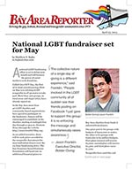 Click for pdf: National LGBT fundraiser set for May