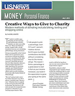 Click for pdf: Creative Ways to Give to Charity