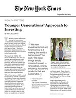 Click for pdf: Younger Generations' Approach to Investing