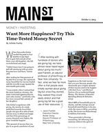 Click for pdf: Want More Happiness? Try This Time-Tested Money Secret